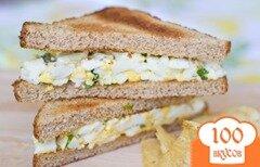 Фото рецепта: «Сэндвич с яичным салатом»