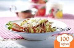 Фото рецепта: «Мороженое-спагетти»
