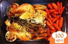 Фото рецепта: «Курица в духовке на Новый год»