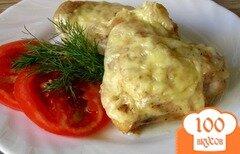 Фото рецепта: «Куриные бедрышки под сыром»