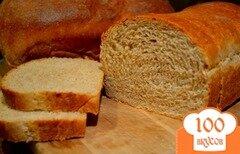 Фото рецепта: «Медовый белый хлеб»