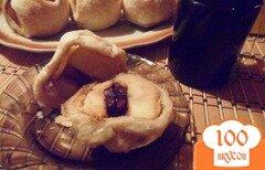 Фото рецепта: «Яблоки, фаршированные корицей и изюмом в слоёном тесте»