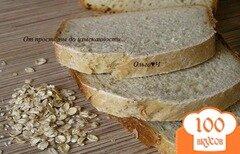 Фото рецепта: «Хлеб с овсяными хлопьями»