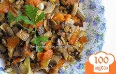 Фото рецепта: «Грибная икра со сладким перцем»