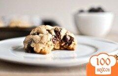 Фото рецепта: «Овсяное печенье на коричневом масле»