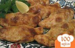 Фото рецепта: «Пирожки с индейкой и сыром»
