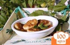 Фото рецепта: «Тефтельки из кабачков и феты по-гречески»