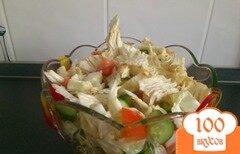 Фото рецепта: «Салат постный с редисом»