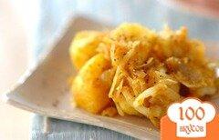 Фото рецепта: «Жареный картофель карри»