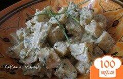Фото рецепта: «Теплый картофельный салат»