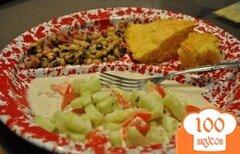 Фото рецепта: «Огуречный салат»