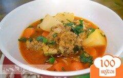 Фото рецепта: «Суп с фрикадельками по-испански»