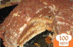 """Фото рецепта: «Торт """"Опавшие листья""""»"""