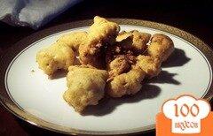 Фото рецепта: «Куриная печень в кляре»
