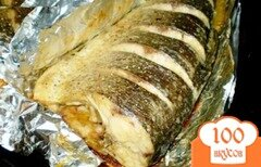 Фото рецепта: «Маринованная рыба запеченная в фольге»