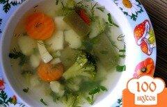 "Фото рецепта: «Суп ""Овощной микс""»"