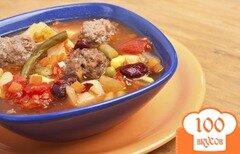 Фото рецепта: «Суп с тефтелями»