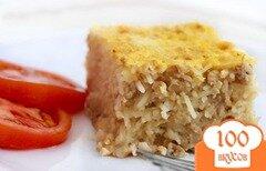 Фото рецепта: «Запеканка из вермишели с фаршем»