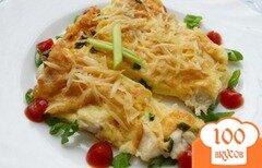 Фото рецепта: «Филе куриное с яйцом»
