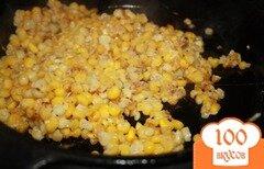 Фото рецепта: «Жареная кукуруза с пармезаном»