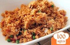 Фото рецепта: «Рис с горошком по-мексикански»