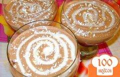 Фото рецепта: «Десерт «Шоколадный бархат»»
