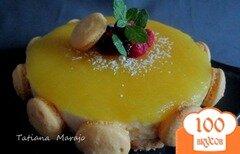 Фото рецепта: «Йогуртово-ананасовый тортик»