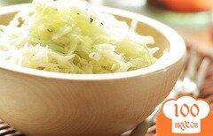 Фото рецепта: «Салат из капусты с уксусом»