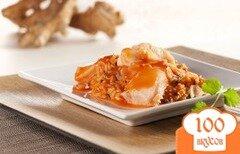 Фото рецепта: «Палтус с рисом-карри под томатным соусом»