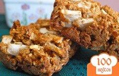 Фото рецепта: «Овсяной хлеб с яблоками»
