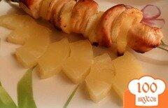 Фото рецепта: «Гавайский шашлык»