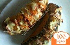 "Фото рецепта: «Бутерброды ""Гармошка""»"