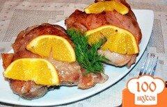 Фото рецепта: «Индюшиные стейки с апельсином»