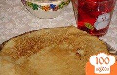 Фото рецепта: «Блины на газированной воде»