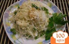 Фото рецепта: «Салат из капусты и имбиря»
