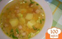 Фото рецепта: «Гороховый суп с ветчиной»