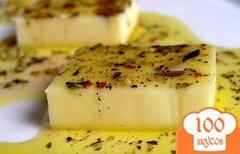 Фото рецепта: «Маринованный сыр»