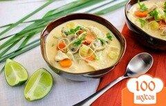 Фото рецепта: «Тайский куриный суп»