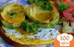 Фото рецепта: «Завтрак с авокадо»