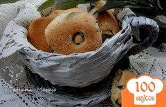 Фото рецепта: «Закусочные булочки с прованскими травами и маслинами»