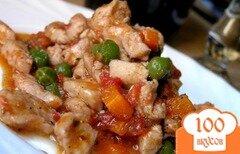 Фото рецепта: «Рагу из индейки с майораном»
