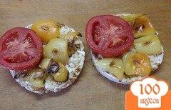 Фото рецепта: «Низкокалорийные горячие бутерброды»