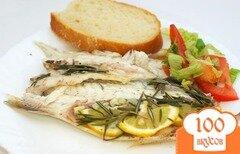 Фото рецепта: «Запеченный морской окунь»