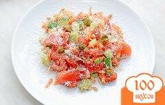 Фото рецепта: «Салат с овощами и сыром»