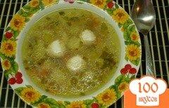 Фото рецепта: «Гречневый суп с мясными шариками»