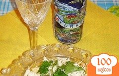Фото рецепта: «Свежий салат из белокочанной капусты, курицы и орехов»