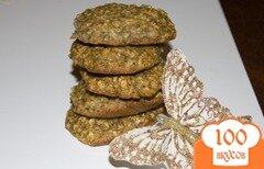Фото рецепта: «Овсяное печенье с бананом»