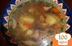 Фото рецепта: «Постный грибной супчик»