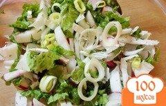 Фото рецепта: «Салат из птицы с черносливом и овощами»