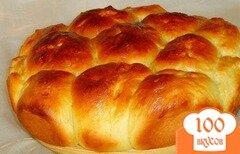 Фото рецепта: «Порционный пирог с яблоками и вялеными вишнями.»